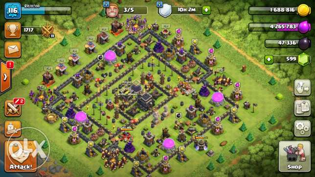 Town 9 max for sale king24 queen16