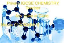 IGCSE Chemistry Teacher