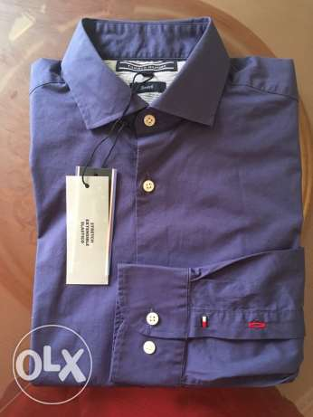 original tommy hilfiger shirt size small and medium slim for 750 LE