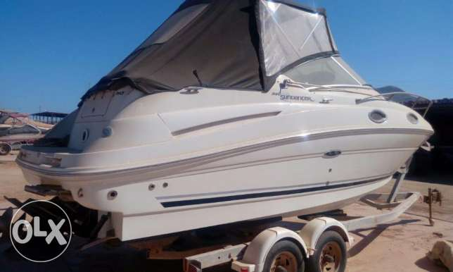 يخت searay 24.5' sundancer mint condition العين السخنة -  1