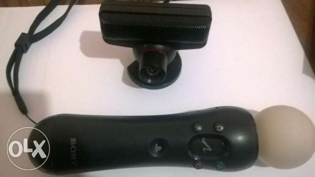 Ps3 move controller and a camera