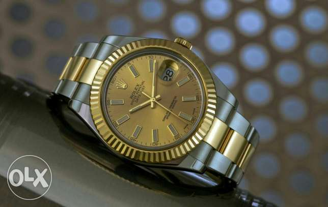 Rolex Datejust II Gold Dial