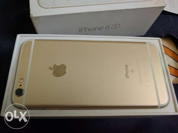 iPhone 6s 64g Gold Edition like new
