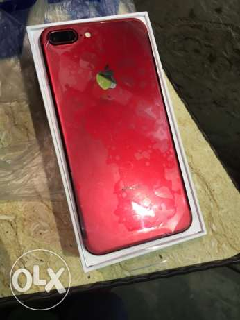 iphone 7 plus 128 red احمر