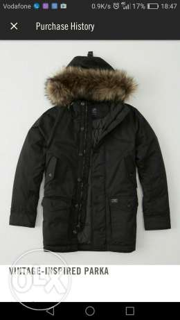 Abercrombie and Fitch, Jacket ( Parka), Size M