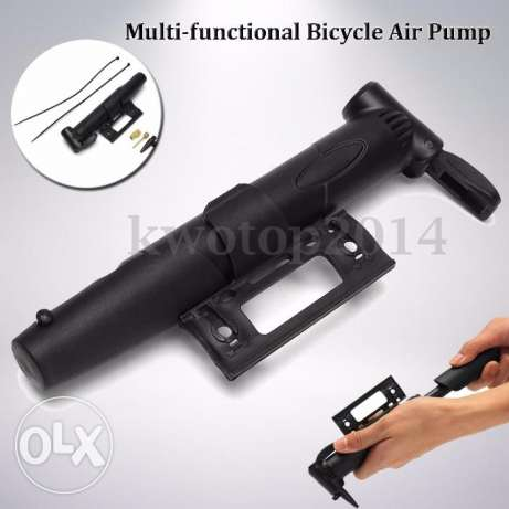 New Multi-functional Portable Bicycle Air Pump Tyre