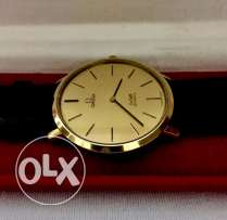 Original Swiss Made 18K Gold OMEGA De Ville Quartz From Switzerland