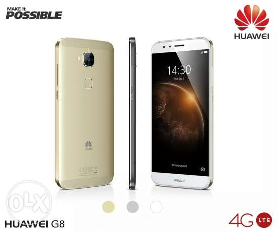 Mobile Huawei g8 + black original cover حى الجيزة -  1
