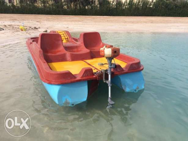In Hurghada for sale catamaran, second hand, made in Germany, 3,5 CC الغردقة -  1