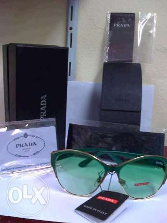 PRADA Sunglasses green