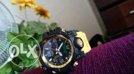 Yellow casio g shock