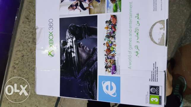 Xbox 360 new with kinict