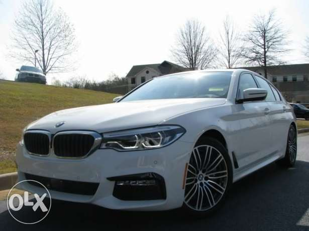 2017 BMW 5-Series 540i m sport from usa