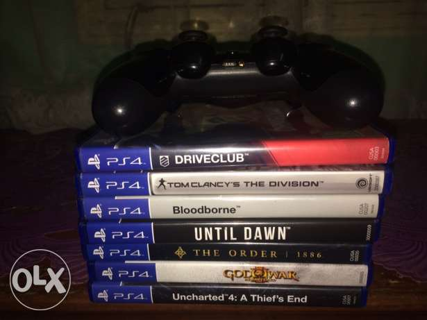 PS4 500GB with box and 7 games CD مدينة نصر -  6