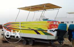 Power Party Catamaran from USA. with license & trailer
