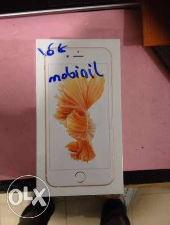 iphone 6s plus 16GB mobinil only