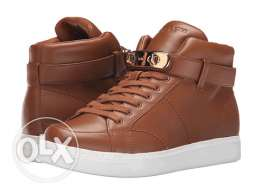 Coach woman high neck camel sneakers new and original
