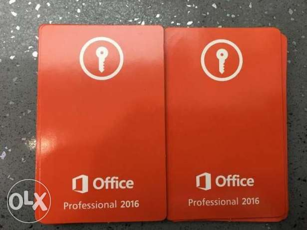 Microsoft Office 2016 Professional - Activation Key - Lifetime License