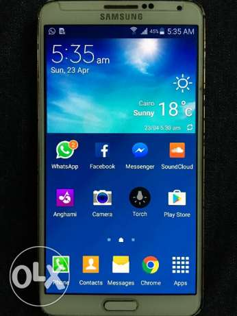 Note 3 gold 32 giga