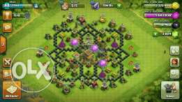Clash of clans town in alexandria
