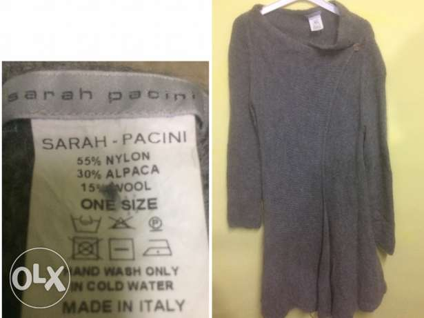 Sarah Pacini . Made in Italy . Size L.
