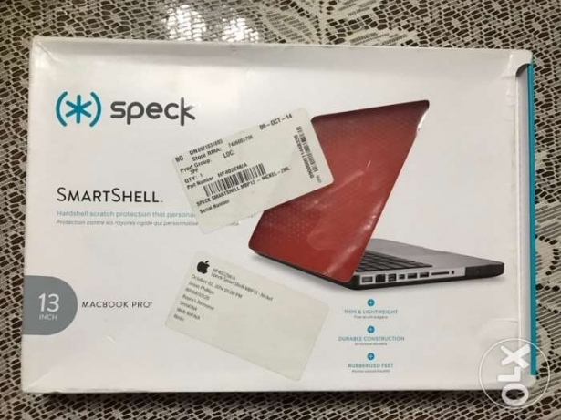 speck smart shell cover for MacBook Pro 13 in