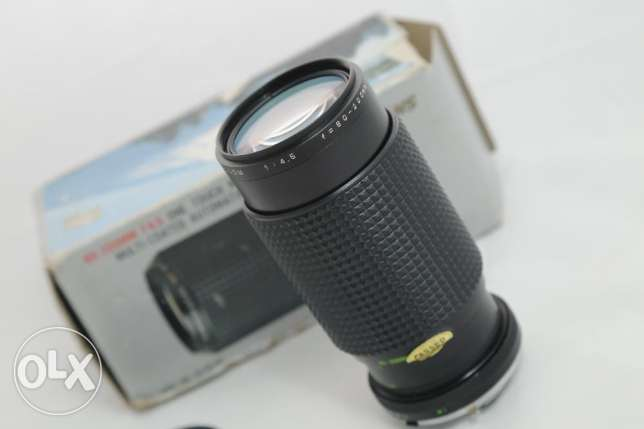 عدسة مانوال 80-200 for md mount f4.5