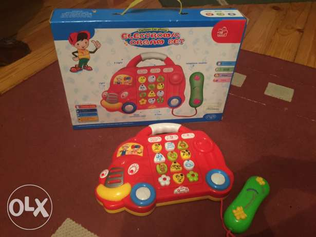 cartoon car phone