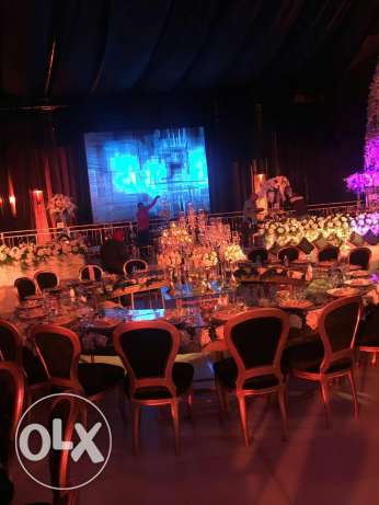Wedding production manager assistant