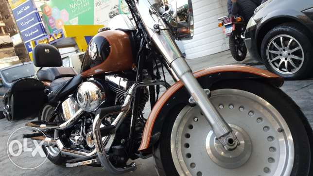 "The ONLY Harley Davidson Fat Boy ""105 Anniversary Edition"" in Egypt"