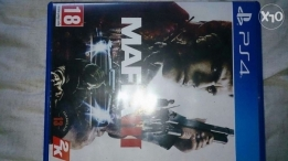 For sale mafia III with map like New in perfect con