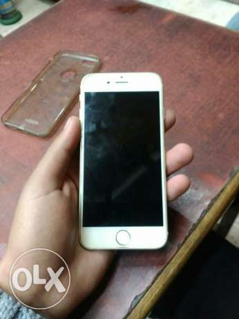 Mopile iPhone 6 gold 16 giga الحلمية -  1