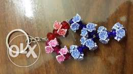 Flowers key chain