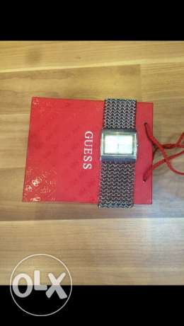 original guess watch slightly used in oerfect condition
