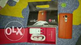 Lg g4 used as zero and have accessories bag with new battery and cover