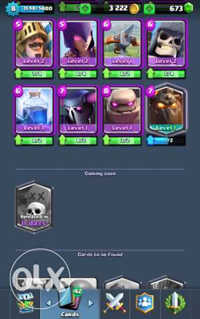 Clash Of Clans & Clash Royal Accounts الإسكندرية -  8