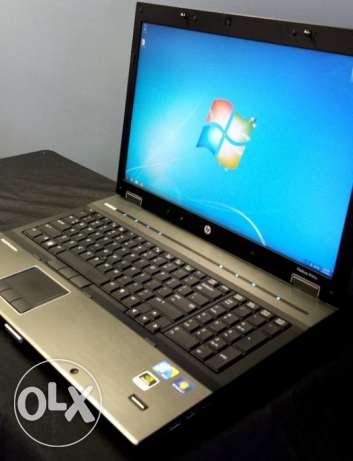 للجرافيكس((HP WORKSTATION 8740W CORE I7,ram8g hdd500 NVADIA 5G))