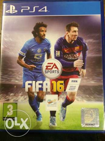 fifa 16 for ps4 same as new