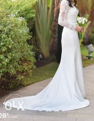 Demetrios Wedding Dress from the boutique used once