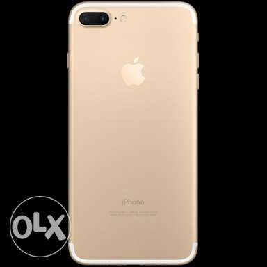 iphone 7 plus -Gold- 256 GB neww المنصورة -  2