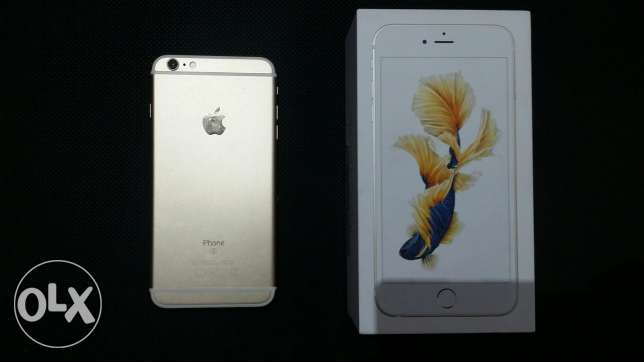 I phone 6s plus 64 gold for sale