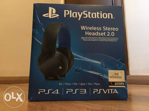 Playstaion Wireless Stereo Headset 2.0