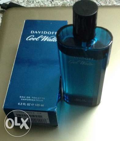 Cool water by Davidoff for men 125 ml original