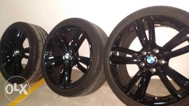 BMW 340 19 inch wheels with Tyres