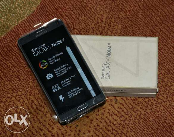 Note 4 SM-910F 4G like new