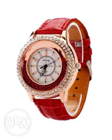 New Red Ladies Watch