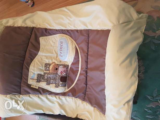 Baby bed cover and duvet