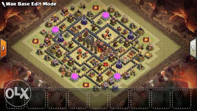 Clach of clans th10
