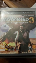 2 original cds Uncharted 2 and 3 playstation 3
