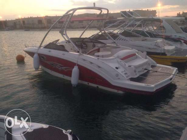 Chaparral 244 sunesta with tower 180 hours